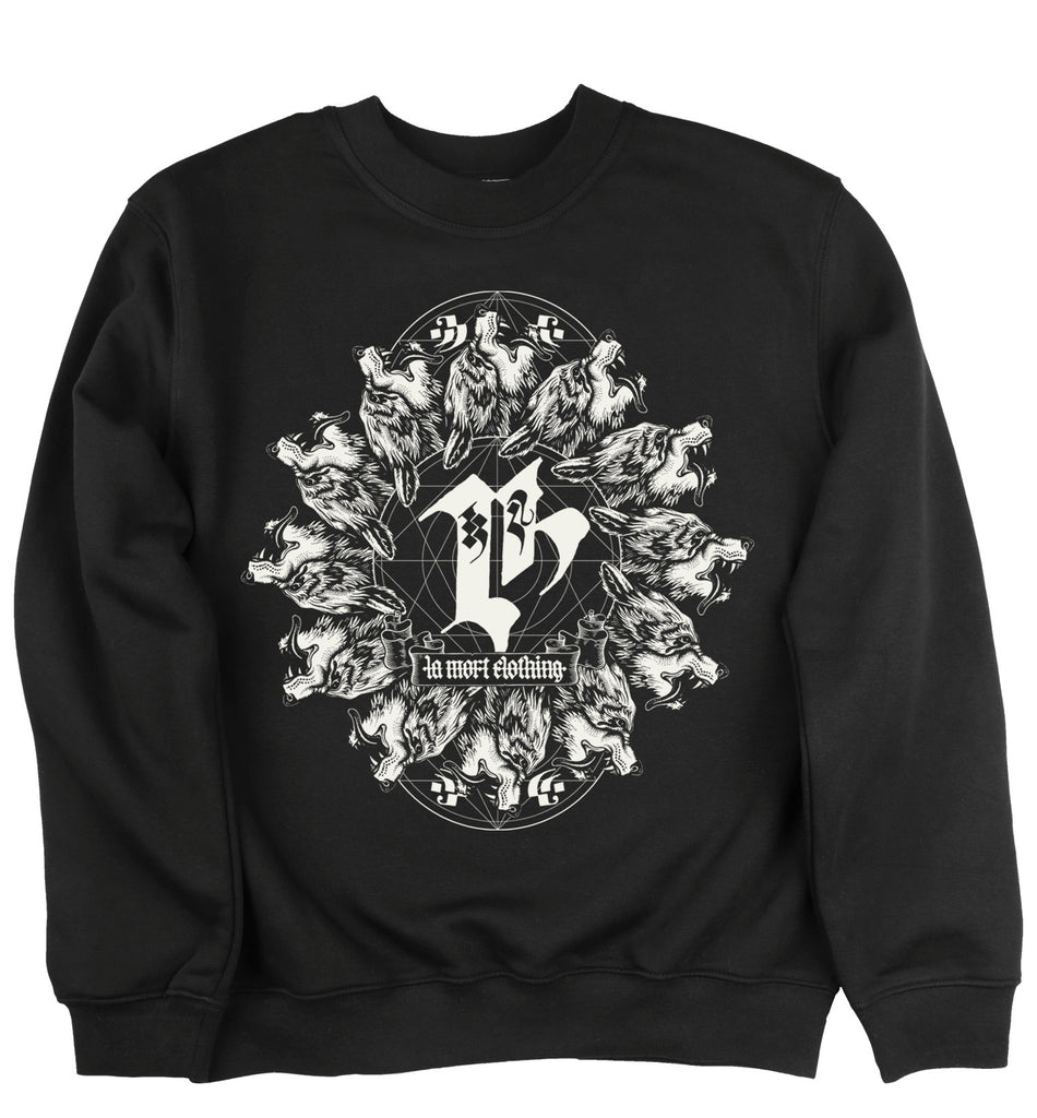 Coven Sweatshirt (BW/B)