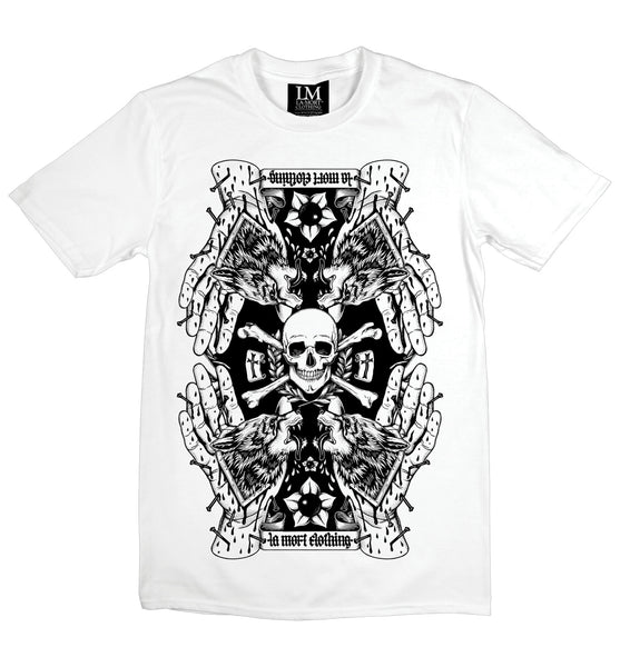 Wolfsbane T-shirt (B/W)