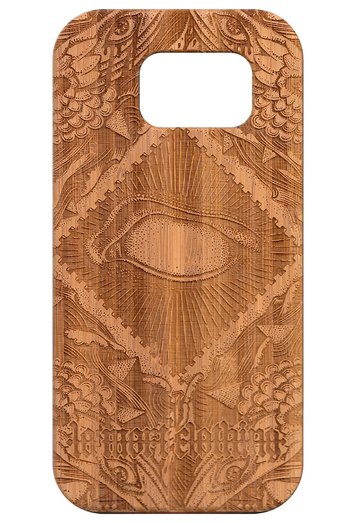 Blind Samsung Galaxy S6 Case (Bamboo)