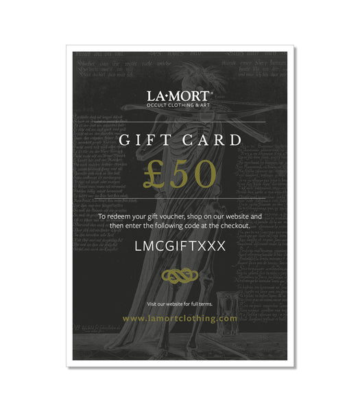 Digital Gift Card | £50