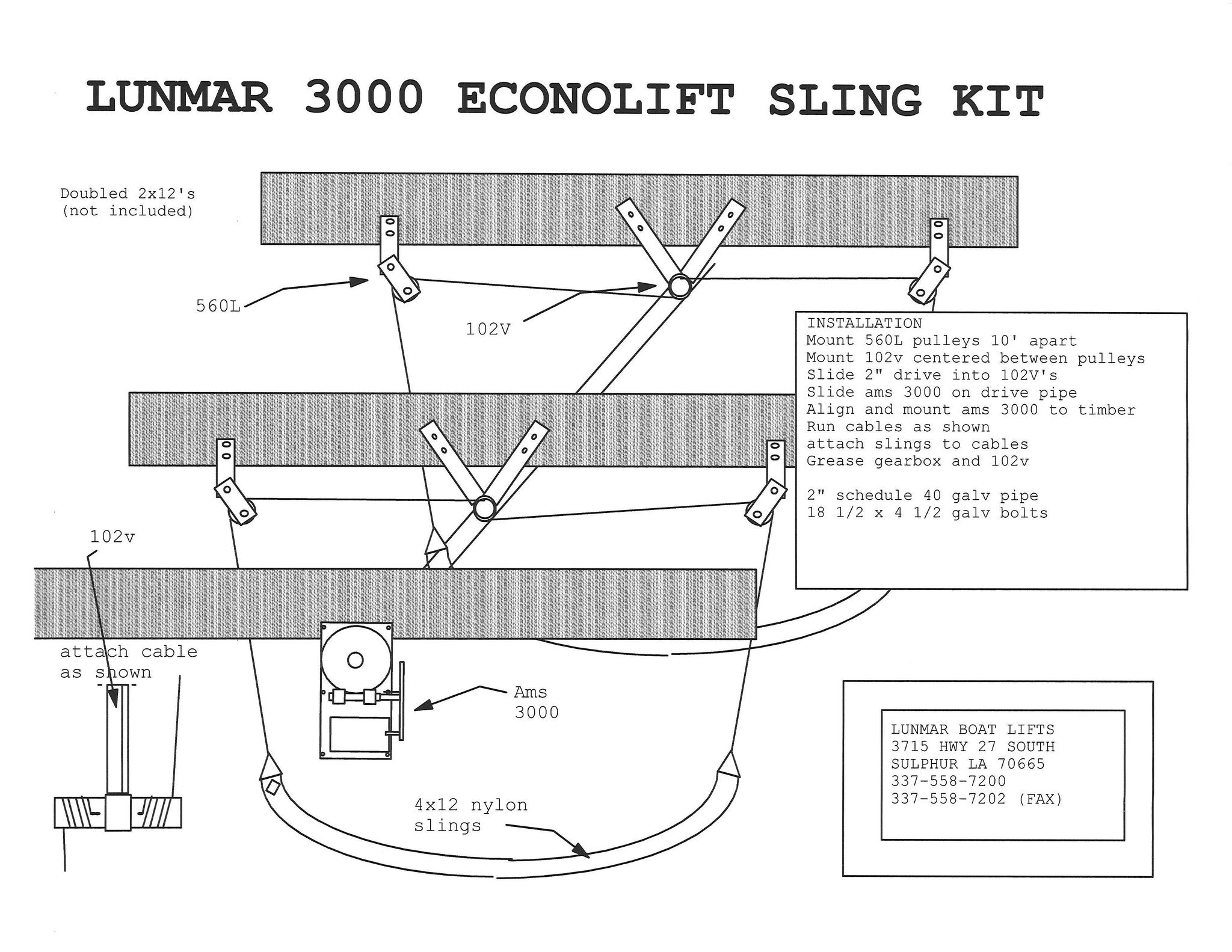 3000_Econo_Installation_Diagram boat lift wiring dolgular com  at bakdesigns.co