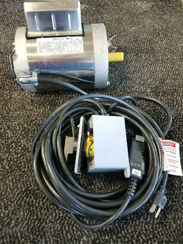 3/4 HP **C-FACE** STAINLESS STEEL MOTOR