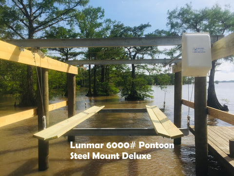 Lunmar Pontoon Cradle Kit Steel Mount (3000#, 4000#, 6000#)