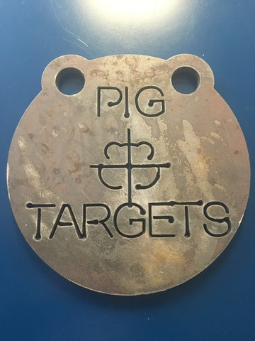 Set of 3 Pig Targets