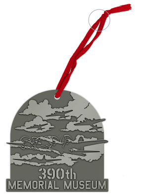 390th Bomb Group Christmas Ornament