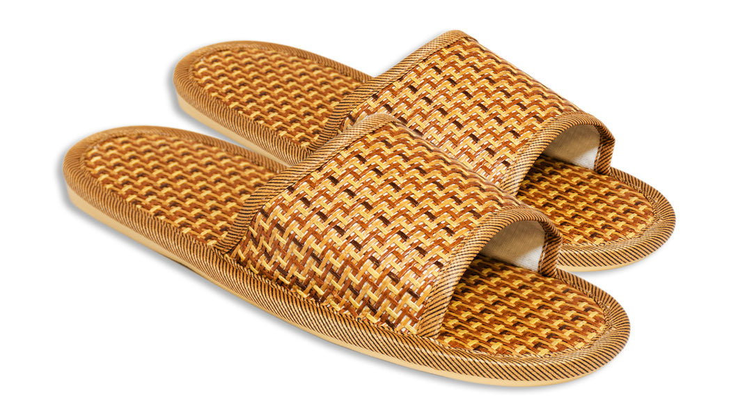 Bamboo Luxury Open Toe Sandals/Slippers