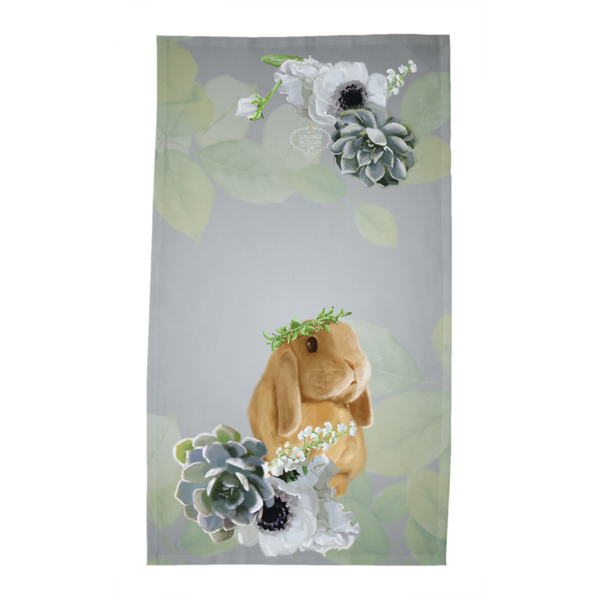 Hour By Flower Tea Towel