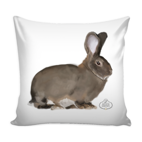 Flemish Giant Pillow Cover