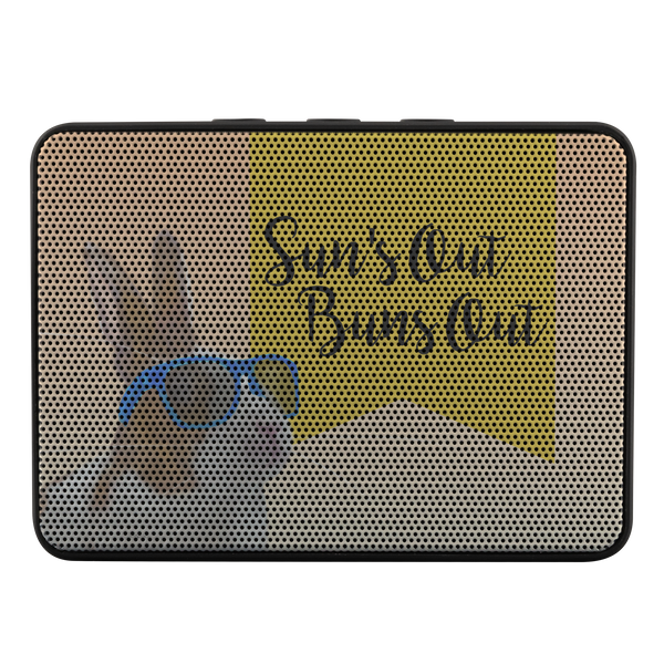 Sun's Out, Buns Out Bluetooth Portable Speaker