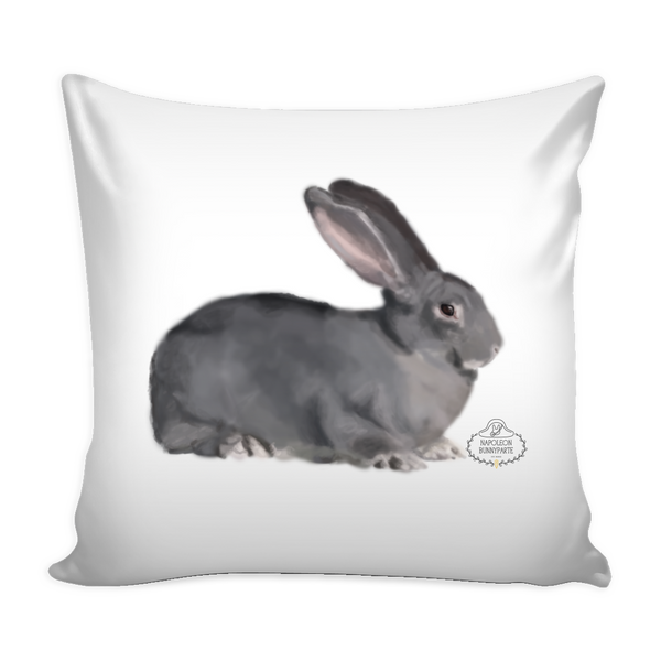 Chinchilla Rabbit Pillow Cover