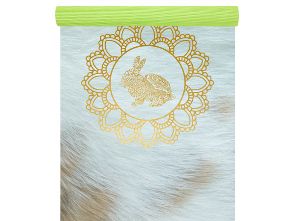 Happy Bunny Pose Yoga Mat
