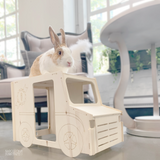 Bunny I'm Home Vintage Delivery Truck