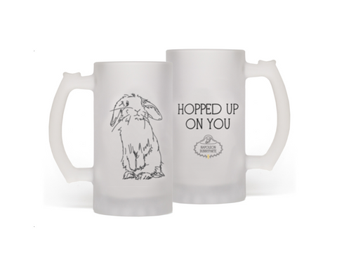 Hop, Drop, and Roll Beer Mug