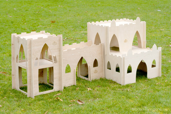 Hoppy Hampton Bunny Castle Package