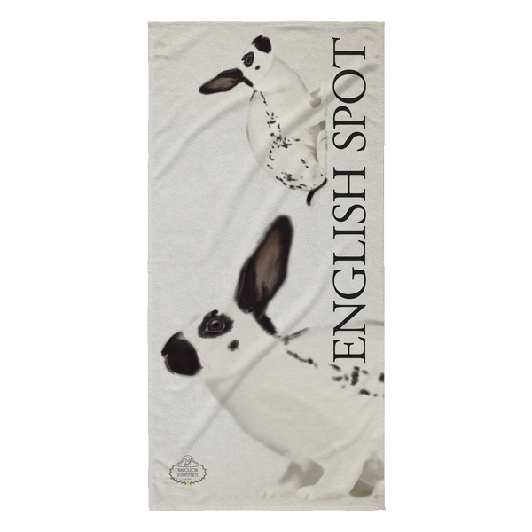 English Spot Beach Towels