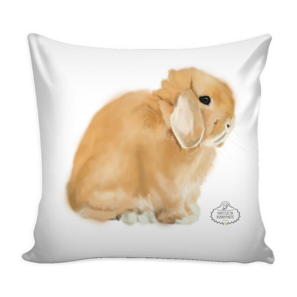 Holland Lop Pillow Cover