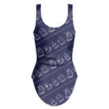 Seas The Day Swimsuit (Navy)