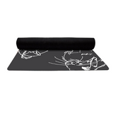 Rabbit Pose Yoga Mat