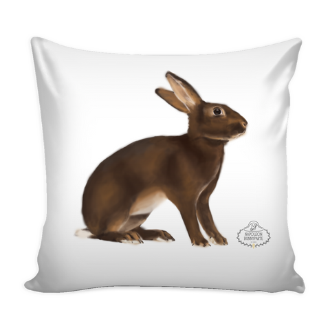 Belgian Hare Pillow Cover
