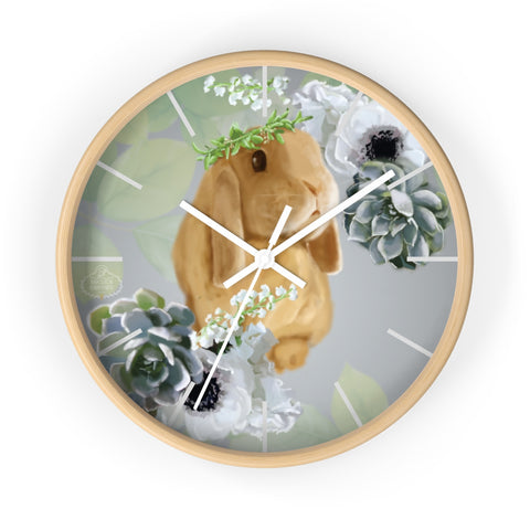 Hour By Flower Wall Clock