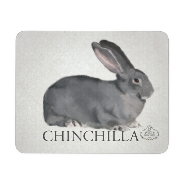 Chinchilla Rabbit Mousepad