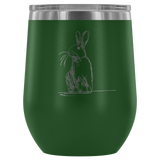 Hare We Go Wine Tumbler