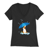 Rain Or Shine V Neck TShirt