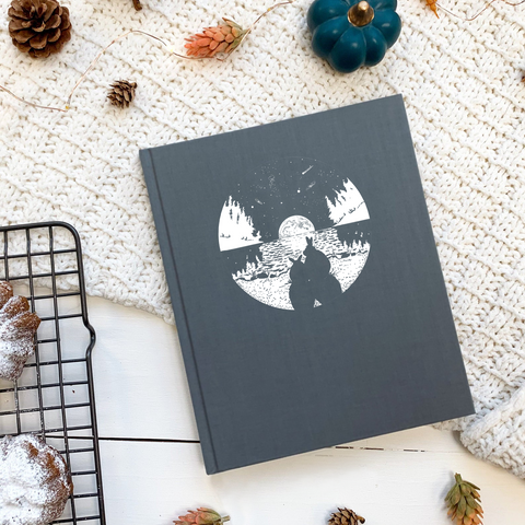 Furry Best Friends Hardcover Notebook