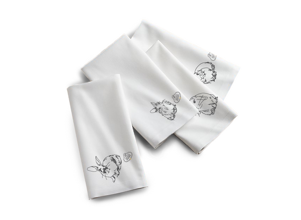 Rescue Is My Favorite Breed Napkin (Set of Four)