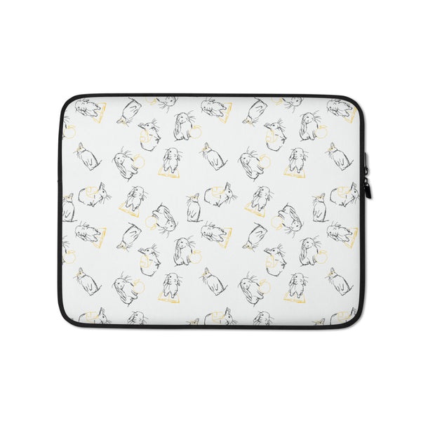 Put Your Ears Up Laptop Sleeve