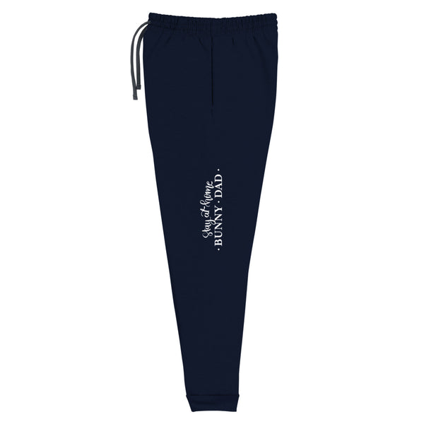 Stay At Home Bunny Dad Unisex Joggers