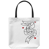 A Little Heart To Heart Tote