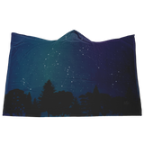 Star Light, Bun Bright Hooded Blanket— Twilight