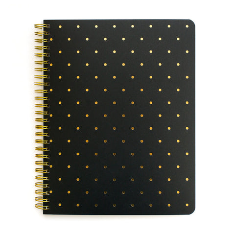 PERFECT DOT NOTEBOOK - BLACK