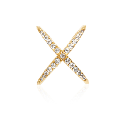 X-Pave Ring