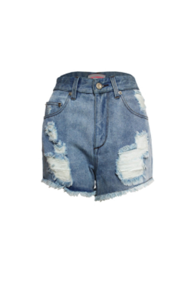 The Riley Denim Cut Off Shorts