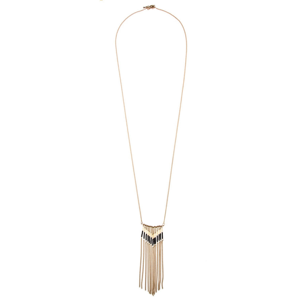 Tribal Fringe Necklace