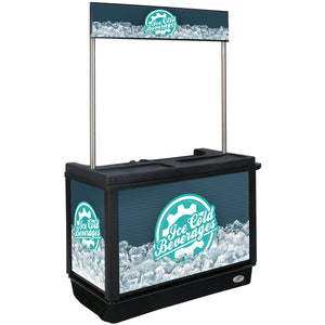 IRP 280 Qt. Beverage Cart - Ready Bars