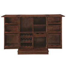 "RAM Gameroom ""PORTABLE FOLDING BAR CABINET-CHESTNUT"" - Ready Bars"