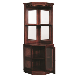 "RAM Gameroom ""CORNER BAR CABINET - ENGLISH TUDOR"" - Ready Bars"