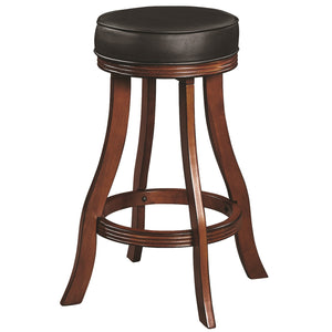 "RAM Game Room ""BACKLESS BARSTOOL - CHESTNUT"" - Ready Bars"