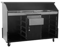 "Eagle Group ""63"" Deluxe Portable Bar"" DPB-5R - Ready Bars"