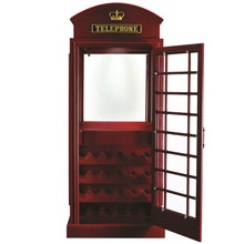 "RAM Gameroom ""OLD ENGLISH TELEPHONE BOOTH BAR CABINET"" - Ready Bars"