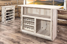 Montana Collection Deluxe Bar with Foot Rail, Ready to Finish - Ready Bars