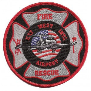 Key West, FL Airport Fire Rescue Patch