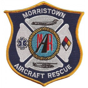 Morristown Aircraft Rescue Patch