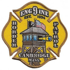 Cambridge, MA Engine 9 Patch