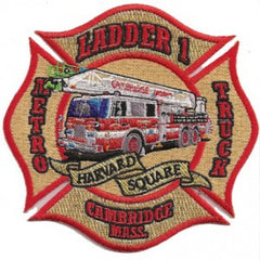 Cambridge, MA Ladder 1 Patch