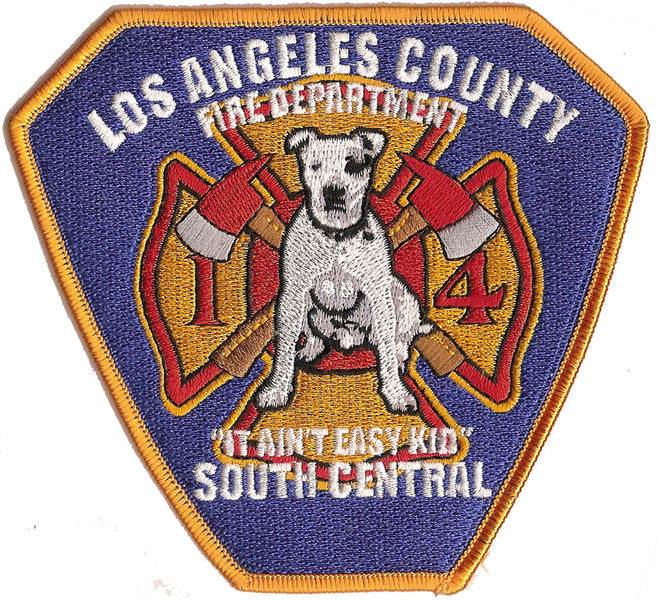 "LA County Station 14 ""South Central"" Patch"