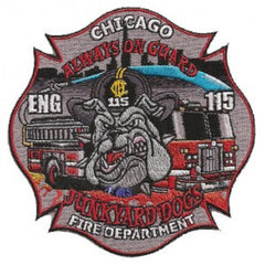 "Chicago Engine 115 ""JUNKYARD DOGS"" Fire Patch"